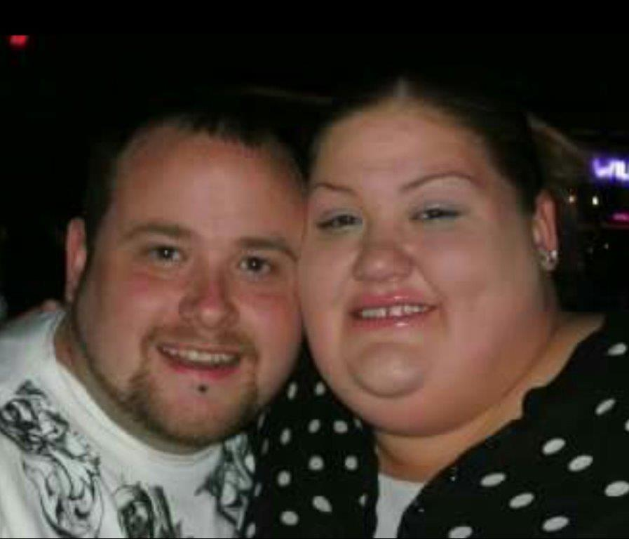 Brandy Holliday and Clinton Gossett