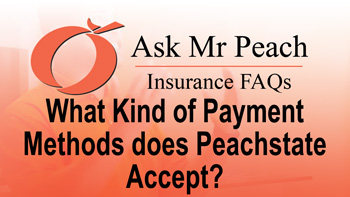 What Kind of Payment Methods Does Peachstate Accept?