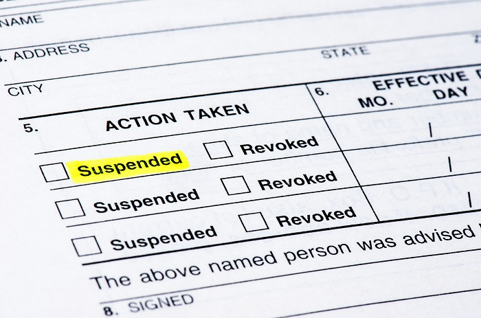 paper with option suspended highlighted